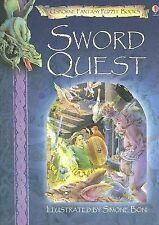 Sword Quest (Usborne Fantasy Puzzle Books), Dixon, Andy, Good Book