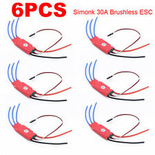 6x 30AMP 30A SimonK Firmware Brushless ESC w/3A 5V BEC for RC Quad Multi Copter*