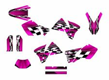 2001 2002 KTM EXC 125 250 450 525 graphics sticker kit NO2500 Pink