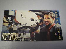 STAR TREK FIRST CONTACT TRADING CARD BEHIND THE SCENES N. BS1 Jonathan Frakes