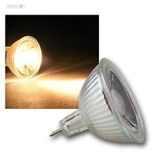 MR16 LED Leuchtmittel, 3W COB warmweiß 230lm Strahler Birne Spot 12V Lampe GU5,3