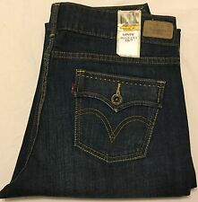 LEVI'S 526 Slender Boot Cut Jeans Womens 12 Medium (Dark Wash) NWT