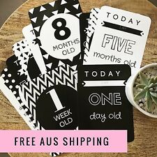 Baby Milestone Cards, Baby Photo Cards - Newborn Photo Props - Baby Shower Gift