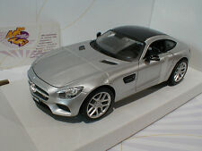 "Maisto 31134 # Mercedes AMG GT Coupe Baujahr 2014 in "" silber-metallic "" 1:24"