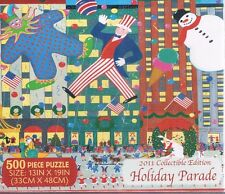 "Patricia Palermino ""Holiday Parade"" 500 piece 13"" x 19"" sealed Briarpatch 2011"