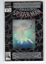 Amazing Spiderman #365 Mark Bagley Lizard hologram cover anniversary issue 9.4