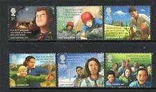 GB MNH 2007 SG2758 - 2763 EUROPA - CENTENARY OF SCOUTING SET OF 6