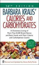 Barbara Kraus' Calories and Carbohydrates: 16th Edition