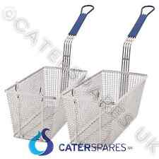 CHIP FRYER BASKETS TWIN SET SUITS PITCO IMPERIAL ELITE FRYMASTER MODELS ETC PAIR
