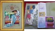Mirabilia Sleeping Princess MD123 Chart, Fabric and beads and Kreiniks