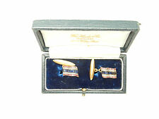 Cufflinks Diamond Set Thailand Flag 18 carat gold