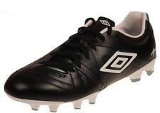 UMBRO SPECIALI 3 CUP HG Chaussures de Football Noir Blanc Bleu Pointure 40