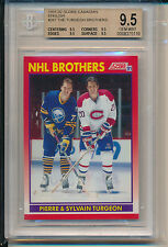 1991 Score Canadian NHL Brothers (Pierre & Sylvain Turgeon) (#267) BGS9.5 BGS