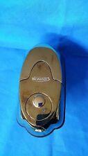 Polished Brass Fingerprint Deadbolt Door Lock BioAxxis BD-1