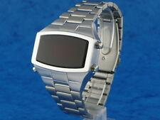 70 Años 70 Antiguos De Estilo Vintage Led Lcd Digital Raro Retro Para Hombre Reloj 12 Y 24 Hr W