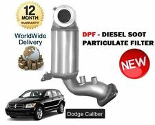 FOR DODGE CALIBER 2.0 CRD 2008-4/2011 NEW DPF DIESEL SOOT PARTICULATE FILTER