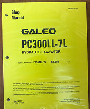 Komatsu Service PC300LL-7L Shop Repair Manual NEW