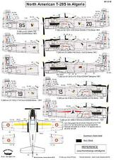 Berna Decals 1/32 NORTH AMERICAN T-28S TROJAN IN ALGERIA