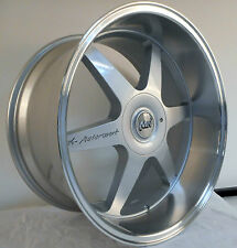 "20"" MK MOTORSPORT ALLOY WHEELS BMW 3 SERIES E90 VW TRANSPORTER T5 DEEP DSIH"