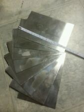 "stainless steel sheet 8 pieces 18 gage 6"" x 4""+- metal plate 304 welding tig mig"
