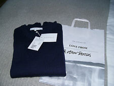 & other stories wool jumper xs BNWT navy