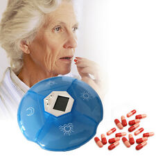Pill Box with Digital Timer Alarm Medicine Box Timer Reminder For The aged Care