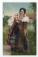 RUSSIE Russia Théme Types russes costumes personnage femme et vue type d'ukraine
