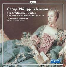 "Telemann: Six Orchestral Suites after ""Die Kleine Kammermusik"" 1716, New Music"