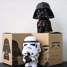 "2pcs Set Star Wars Darth Vader & Stormtrooper 11cm / 4.3"" PVC Figure New In Box"