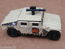 Matchbox HUMMER HUMVEE from 5 Pack LOOSE Tan