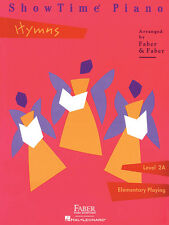 FABER SHOWTIME PIANO LEVEL 2A - HYMNS BOOK