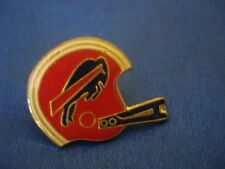 PINS RARE SUPER BOWL CASQUE ROUGE FOOTBALL AMERICAIN USA BISON BUFFALO