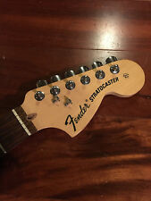 2006 60th Anniversary USA Fender Strat Neck Maple Rswd Stratocaster Tuners Plate