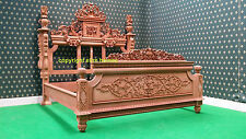 Luxury Chatelet ® Bed ... Its only 1 in the World ... Hand Carved mahogany wood
