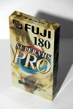 10 x Video Kassette Leer Fuji Super VHS Pro SE-180 SE 180 SVHS S-VHS = 6,90€/St.