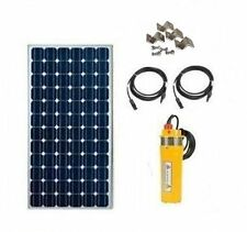 Solar Well Pump Kit - Solar Powered Well Water Pumping Kit - Deep Well System