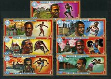 EQUATORIAL GUINEA 1972 SPORTS/SUMMER OLYMPIC GAMES MUNICH SET OF 7 STAMPS MNH