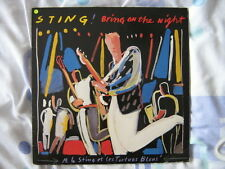 STING DOUBLE 33 TOURS GERMANY BRING ON THE NIGHT