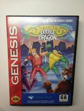 Battletoads/Double Dragon: Ultimate Team (Sega Genesis 1993) Complete Tested