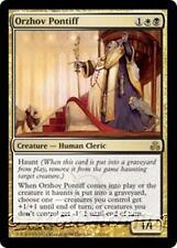 ORZHOV PONTIFF Guildpact MTG Gold Creature — Human Cleric RARE