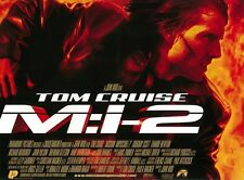 Mission Impossible 2 movie poster Tom Cruise, John Woo 12 x 16 inches