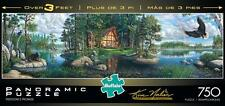 BUFFALO GAMES PANORAMIC JIGSAW PUZZLE FREEDOM'S PROMISE KIM NORLIEN 750 #14055