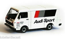 VW LT28 SERVICE TRUCK - AUDI RACING 1/43 scale model by PREMIUM CLASSIXXS