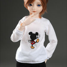 DOLLMORE 1/4 BJD clothes outfits MSD SIZE - Mikiti T (White)