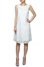 ALICE BY TEMPERLY  Ezra Ivory Dress SIZE UK 12 RRP £625 F3
