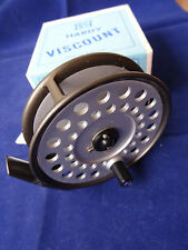 "A STUNNING UNFISHED BOXED 3 9/16"" HARDY VISCOUNT 140 TROUT FLY REEL"