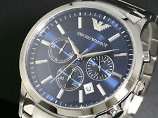 *USA SELLER* AR2448 Emporio Armani EA Stainless Steel Italian Men's Watch NEW