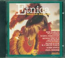 Etnica & World Music Vol. 2 - Bob Marley/Agricantus/Marta Sebestyen Cd Vg