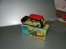 Corgi Toys Nº 249, Mini Cooper Con De-Luxe cestería como nuevo en caja