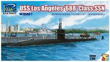 Riich Models RN28008 1/350 USS Los Angeles '688' Class SSN w/DSRV-1